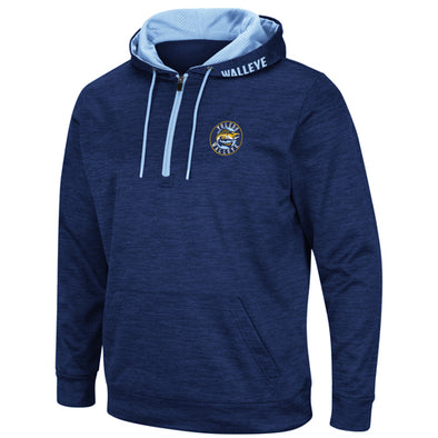 Toledo Walleye Wonder Marled 1/4 Zip Hood