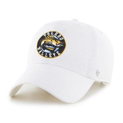 White Walleye Cleanup Cap