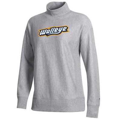Women's Walleye Reverse Weave Terry Mock Sweatshirt