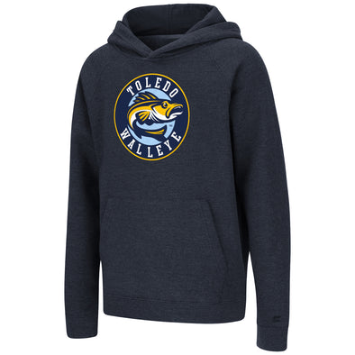 Toledo Walleye Bedrock Youth Pullover Hooded Sweatshirt