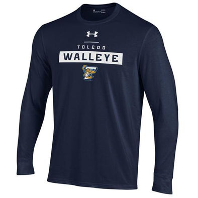 Hilton Youth Walleye UA Performance Cotton Long Sleeve T