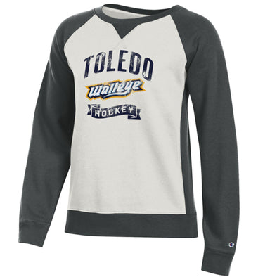 Dowler Walleye Ladies Rochester Crewneck Sweatshirt