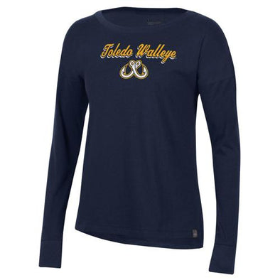 Walleye Ladies UA Performance Cotton LST