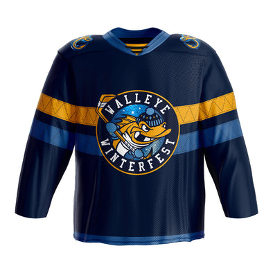 Toledo Walleye Winterfest '20 Spike Replica Jersey
