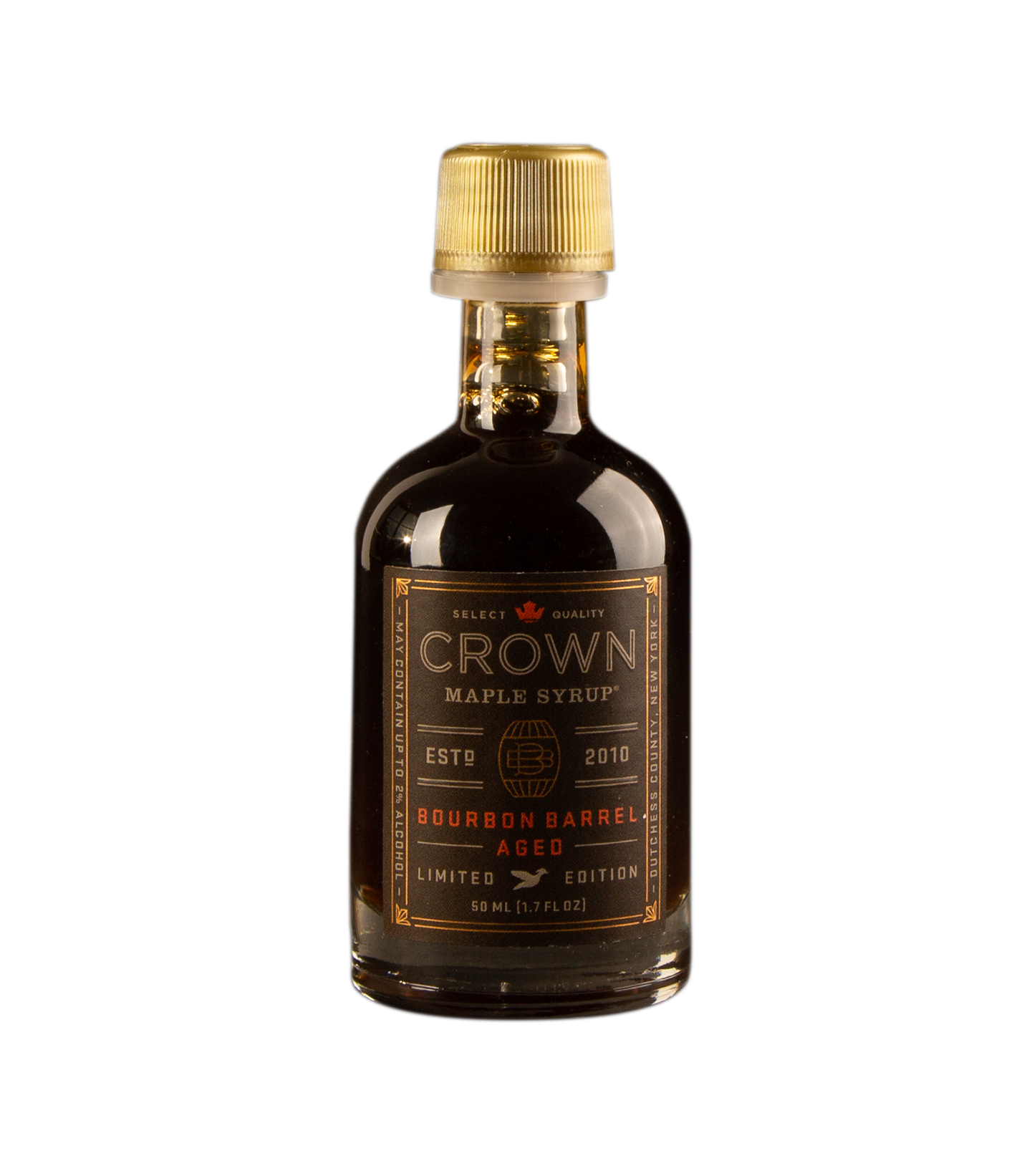 Bourbon Finished Crown Maple Syrup product shot