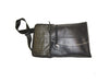 "Recycled Inner Tube Seatbelt ""Striped Series"" Cross Body / Adjustable Tablet Bag. handmade from aluminum pop top pull tabs"