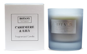 Cashmere and Lily Large Glass Candle