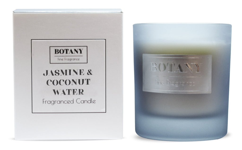 Jasmine and Coconut Water Large Glass Candle