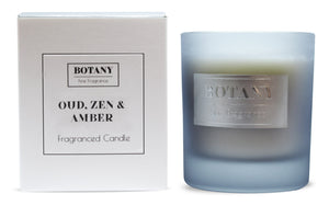 Oud, Zen and Amber Large Glass Candle