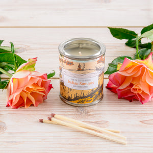 Indian Summer Small Paint Tin Candle