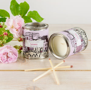 Levanto Small Paint Tin Candle