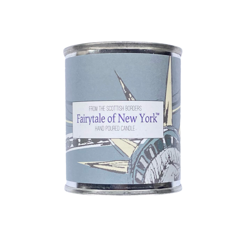 Fairytale Of New York Small Paint Tin Candle