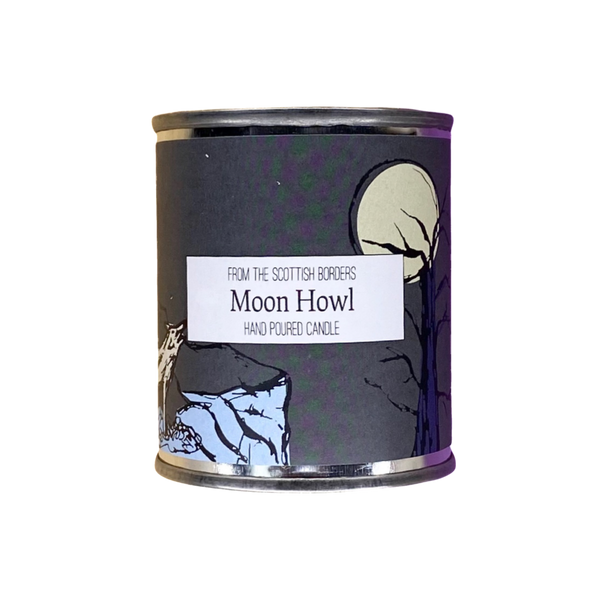 Moon Howl Small Paint Tin Candle