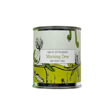 Morning Dew Small Paint Tin Candle