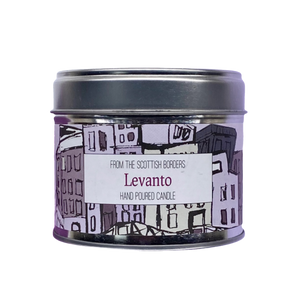 Levanto Lidded Tin Candle