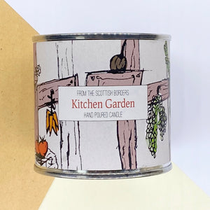 Kitchen Garden Large Paint Tin Candle