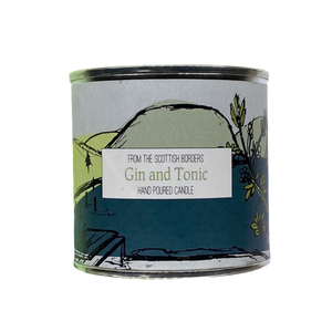 Gin and Tonic Large Paint Tin Candle
