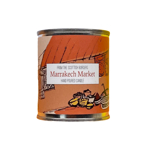 Marrakech Market Small Paint Tin Candle