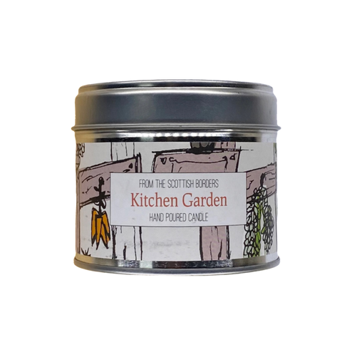 Kitchen Garden Lidded Tin Candle