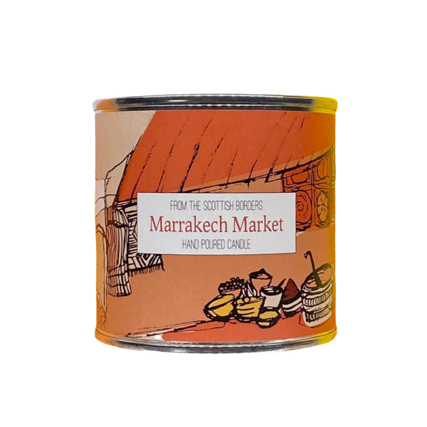 Marrakech Market Large Paint Tin Candle