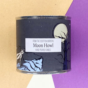 Moon Howl Large Paint Tin Candle