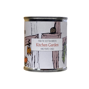 Kitchen Garden Small Paint Tin Candle
