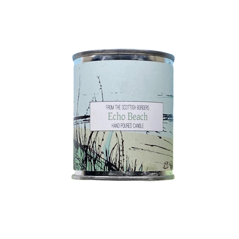 Echo Beach Small Paint Tin Candle