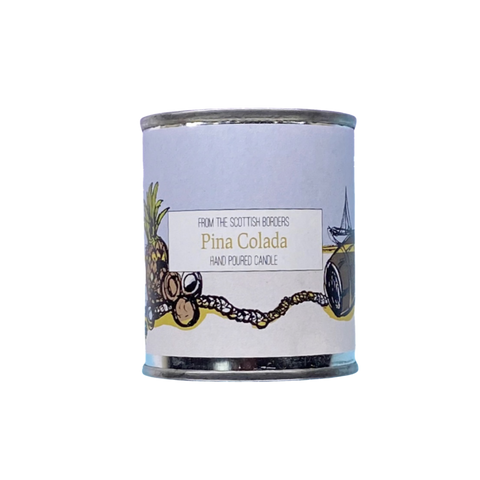Pina Colada Small Paint Tin Candle