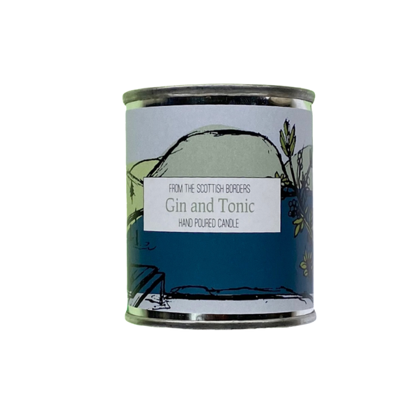 Gin and Tonic Small Paint Tin Candle