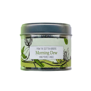 Morning Dew Lidded Tin Candle