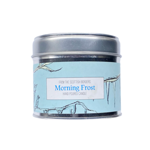 Morning Frost Lidded Tin Candle