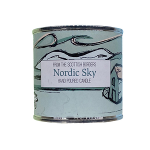 Nordic Sky Large Paint Tin Candle