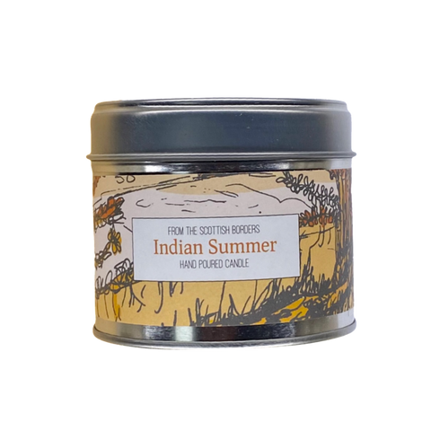 Indian Summer Lidded Tin Candle