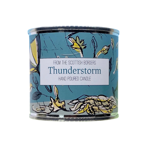 Thunderstorm Large Paint Tin Candle