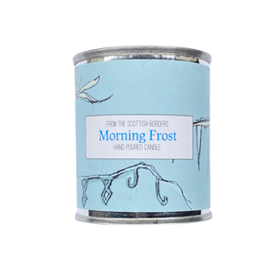 Morning Frost Small Paint Tin Candle