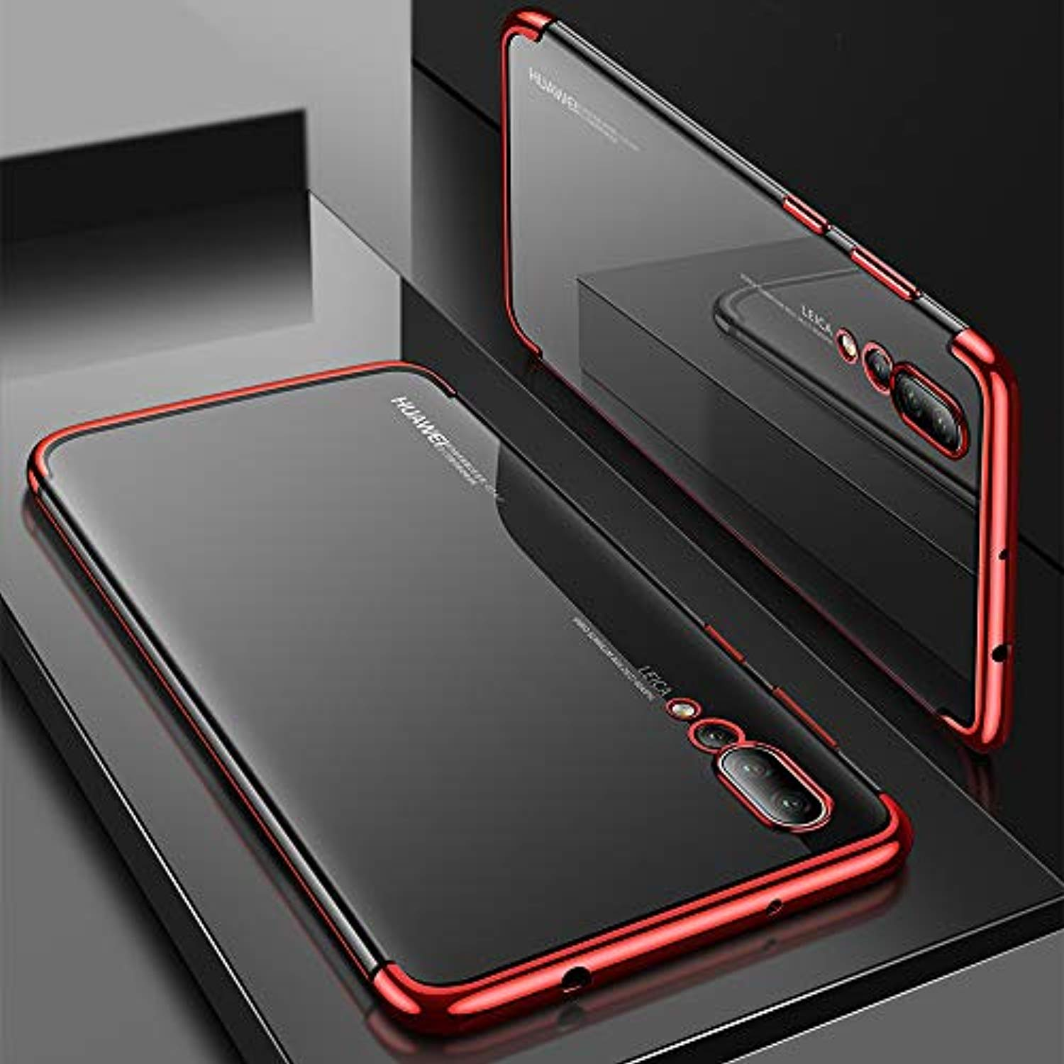 Surom Case Compatible Huawei P20 Pro, Slim Light Weight Shock Proof