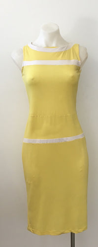 Yellow Vintage 60's Style Dress
