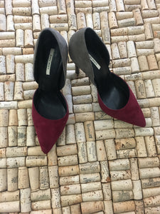 Red and Tan Heels - Zara