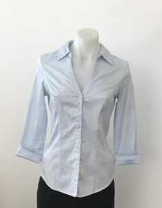 Pale Blue Business Shirt - Portmans Status