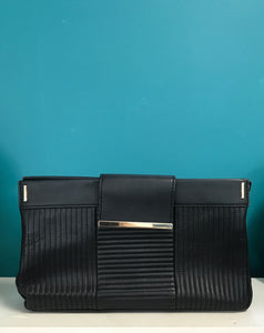 Black Clutch Purse - Witchery