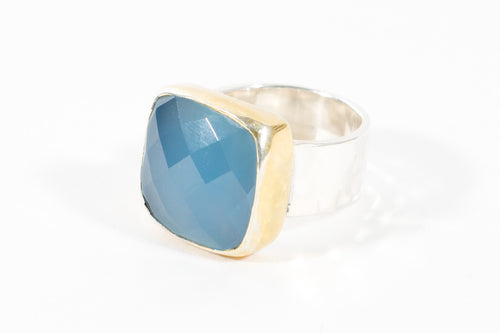 Anna Chalcedony Ring - Rings - Stoned & Waisted Fashion