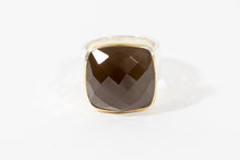 Load image into Gallery viewer, Anna Smokey Quartz Ring - Rings - Stoned & Waisted Fashion