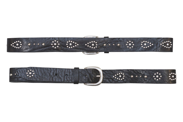 Indiana Belt - Premium Italian Collection Belts - Stoned & Waisted Fashion