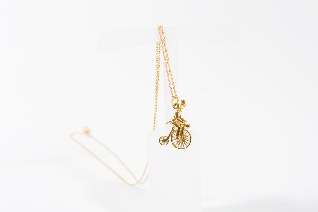 Penny Farthing Charm - Charms - Stoned & Waisted Fashion