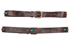 Rodeo Belt - Premium Italian Collection Belts - Stoned & Waisted Fashion