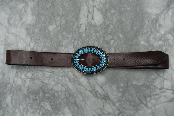 Hattie Belt - Western Collection Belts - Stoned & Waisted Fashion