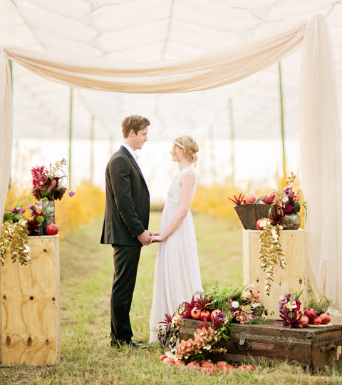 A Pomegranate Harvest styled shoot