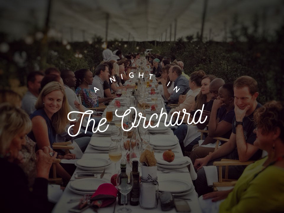 Farm Event: A night in the orchard