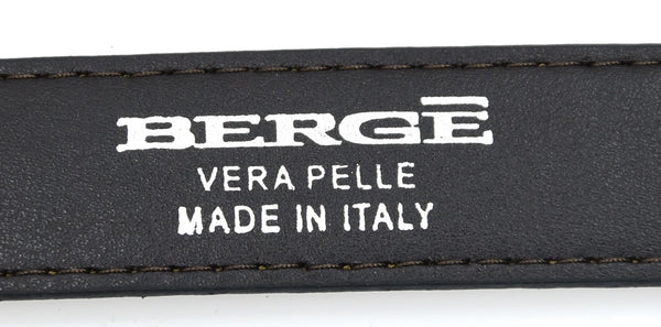 BERGÉ DONNA CINTURA VERA PELLE BERGE MADE IN ITALY ART. 8468/463