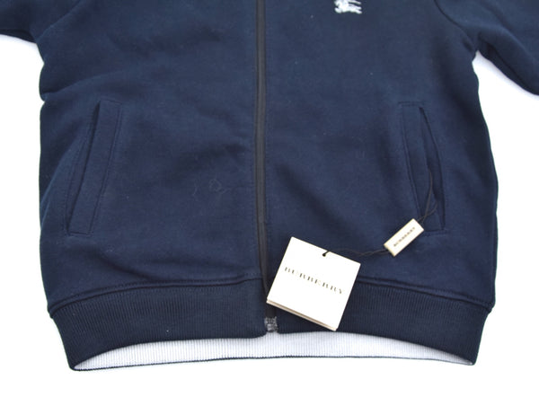 BURBERRY JUNIOR BAMBINO FELPA CON CAPPUCCIO REVERSIBILE CASUAL ART. B05M04/85N